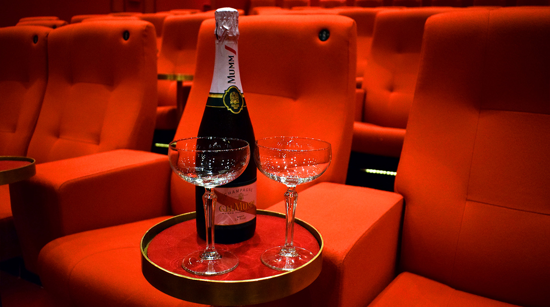 Champagne & Movie For Two