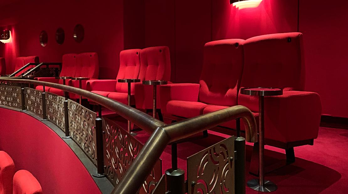 Balcony Double Seat in Screen One