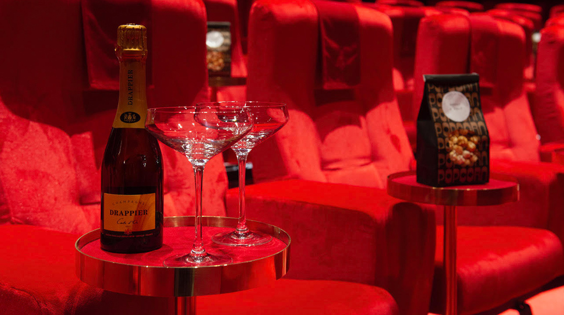 Champagne & Film For Two
